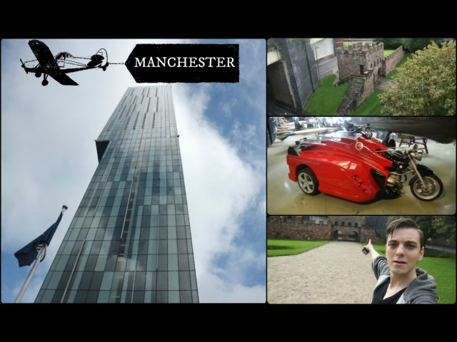 ONLY ANOTHER DAY DOWN MANCHESTER - (MAMUCIUM) - (BEETHAM TOWER) - (MUSEUM )