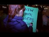 Протесты против избрания Дональда Трампа