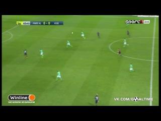 ПСЖ - Сент-Этьен 1:1. Обзор матча. Французская Лига 1 2016/2017. 4 тур.