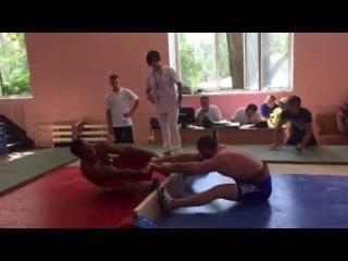 Кабардоков Рустам- чемпион сельских игр РФ по мас-рестлингу 2016г