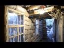 Дом из земли.Стена из Мешков с грунтом.Своими руками.Землебитное Строительство.