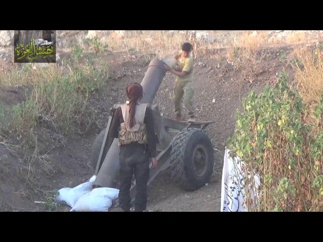جيش_العزة استهداف حاجز زلين بقذائف جهنم قب