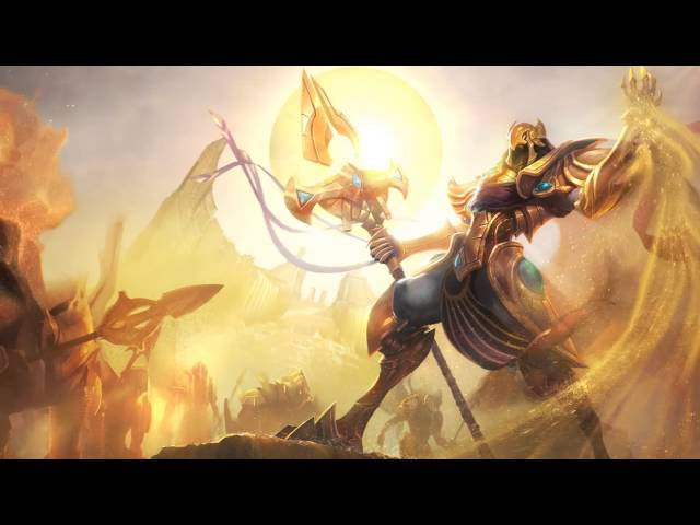 Azir, the Emperor of the Sands | Login Screen - League of Legends