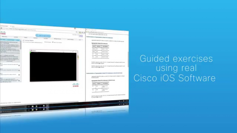 CCENT, CCNA, та CCNP симулятор лабораторних робів Cisco Learning Labs