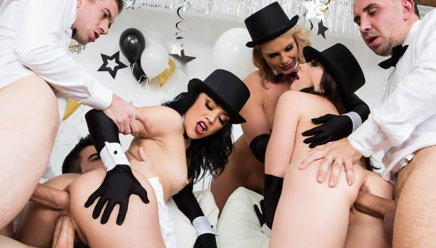 WOW Brazzers New Years Eve Party # 1