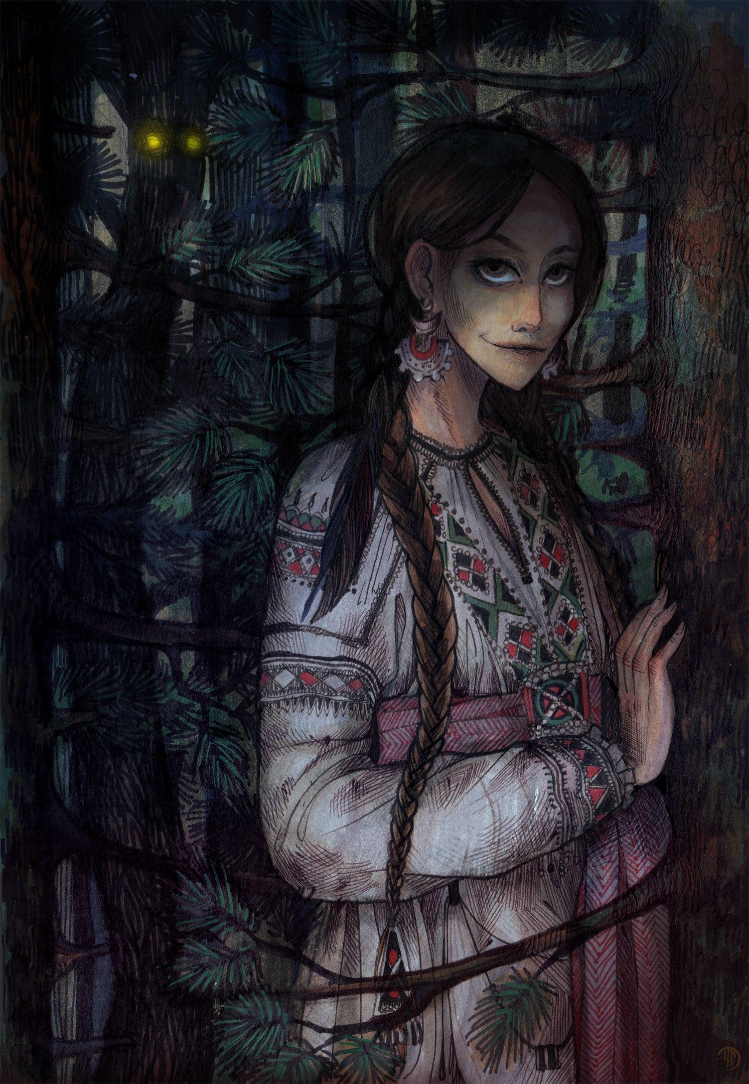 славянское фэнтези картинки
