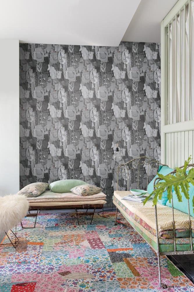 Две новые коллекции от фабрики Grandeco: Village People - ультрасовременная коллекция с необычными рисунками и яркими геометрическими орнаментами - http://gammadecor.