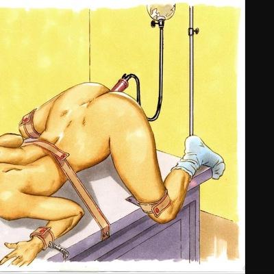 Клизма сексуальная игра и наказание