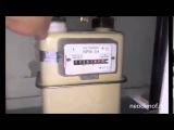 Как остановить газовый счетчик NPM G4 магнитом