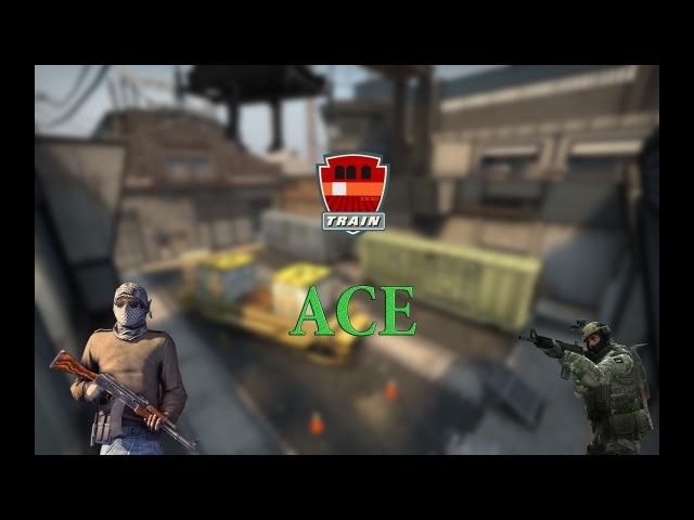 Ace на карте De_Train