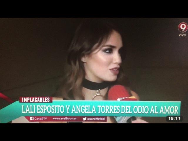 Nota de Lali Esposito en Implacables (10.12.16)