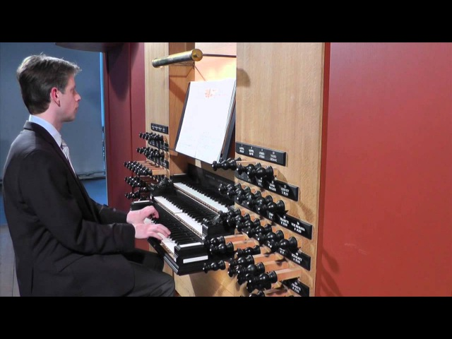 J. S. Bach - BWV 686 - Aus tiefer Not schrei' ich zu dir, Pro Organo pleno