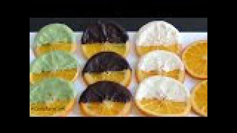 [SUB] АПЕЛЬСИНОВЫЕ ДОЛЬКИ в шоколаде Карамелизированные апельсины Làm Caramel trang trí b...