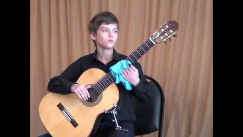 Шмелёв Виктор 1 место, ДШИ г.Артём, конкурс Юный музыкант