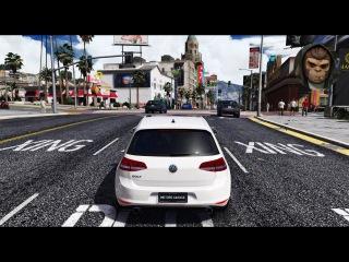 ► GTA 6 Graphics - ✪ REDUX - VW Golf GTI MK7! Gameplay! Ultra Realistic Graphics MOD PC -1080p60 FPS