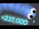 237000 МАССЫ НОВЫЙ РЕКОРД СЛИЗЕРИО ПРОСТО НЕРЕАЛЬНО КАК ПОБЕДИТЬ SLITHER.IO САМАЯ ДЛИННАЯ ЗМЕЯ