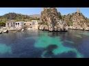 Eyefly Goliath quadcopter at Tonnara di Scopello Sicily