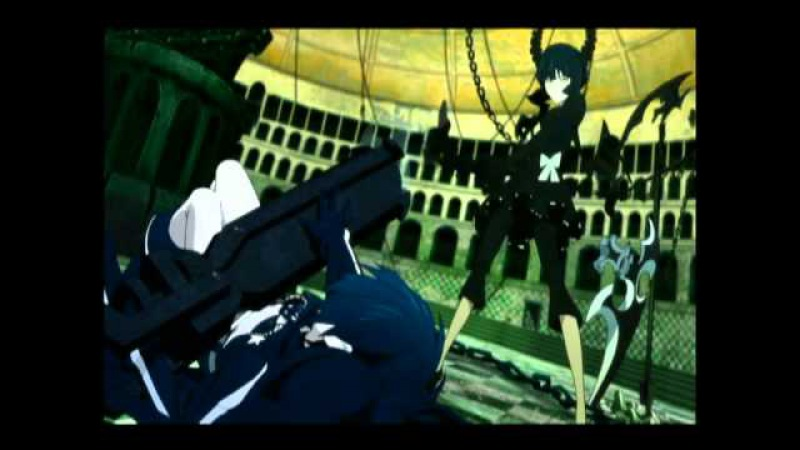 BLACK★ROCK SHOOTER ( Emnily - Love is war [RUS] )