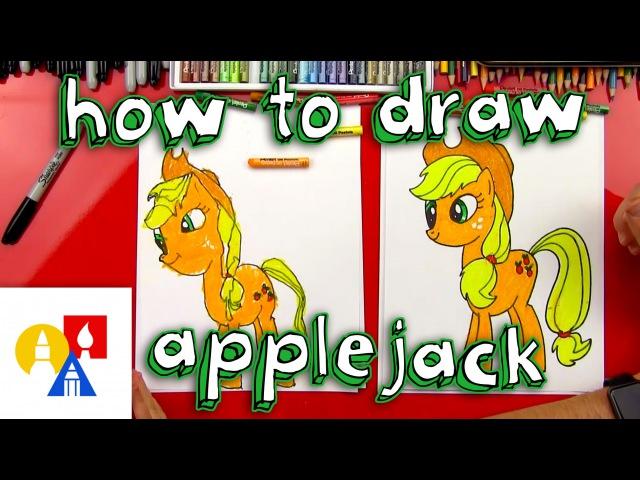 How To Draw Applejack My Little Pony