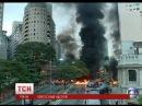 У Бразилії протестують палять шини та перекривають автомагістралі
