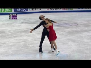 Габриэлла Пападакис - Гийом Сизерон   Чемпионат мира 2016   Короткий танец