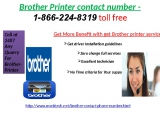 Brother Printer contact number 1-866-224-8319 Toll Free is available globally