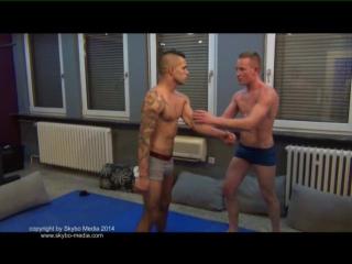 STREET TEENS 4 gay boy feet trampling wrestling new 2015