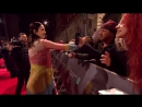 Катрина Балф на красной дорожке BAFTA в Лондоне