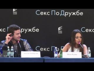 А шо вы хотите шоб он делал (с) Мила Кунис говорит по русски