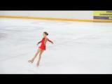Alexandra Trusova Triple Axel attempt