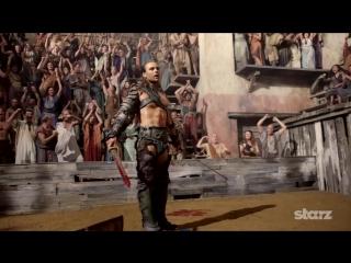 Спартак: Боги арены(Spartacus - Gods of the Arena) Трейлер