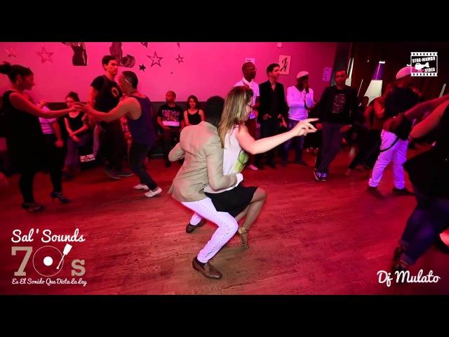 Mouaze Konaté Muriel social chacha dancing @ SAL'SOUNDS 70'S