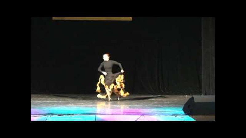 Flamenco fusion   Flamenco Dance Performance   Катерина Буйда - Чайка