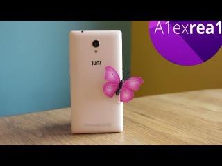 IUNI i1 классный смартфон для девушки, первый взгляд на стилягу.