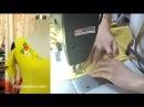 Cách may váy xòe thiên cổ chữ V Phần 2 Thời Trang Thủy Sewing circular dress