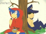Sonic exe x sonic