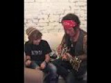 Drumming prodigy Jagger Alexander-Erber and Legend Tracii Guns at The Whisky A GoGo in LA Part 2
