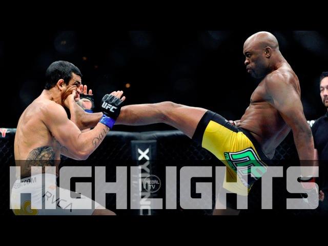 Anderson Silva vs Vitor Belfort Fight Highlights А Сильва vs В Белфорт Лучшие Моменты Боя