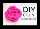 Cómo hacer cojines con nudos celtas DIY COJINES DECORATIVOS