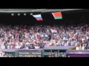 Падение флага США. Олимпиада. Лондон. 2012 год.
