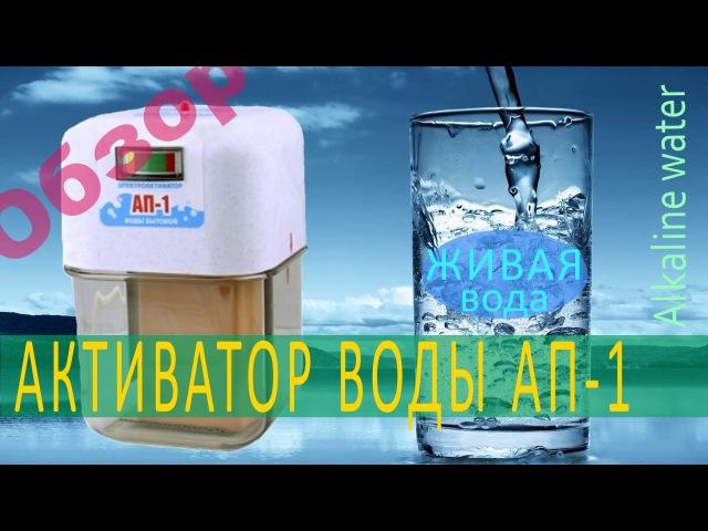 Живая и мертвая вода Обзор активатора воды АП 1 Польза живой воды