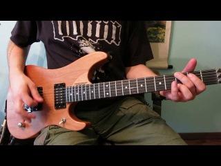 Упражнение на электрогитаре, Как играть риффы, Rock 'N' Roll Riff # 1
