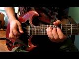 Упражнение на гитаре , Уроки электрогитары Rock Lick # 1