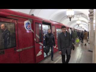 Фирменный поезд Кубка Конфедераций FIFA - в московском метро!
