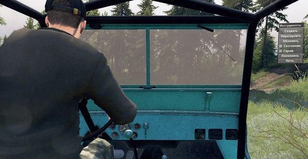 Jeep Willys 1948 для Spintires - Скриншот 1