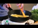 Как приготовить вкусный омлет.