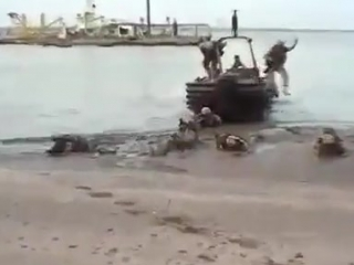 Высадка войск НАТО в России