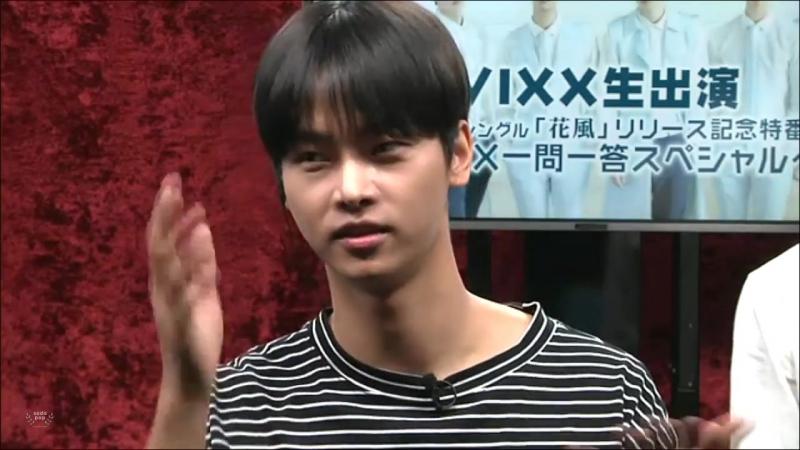 [160627] VIXXニコ生 日本3rdシングル「花風」リリース記念特番 ~ VIXX一問一答スペシャル ~ FULL