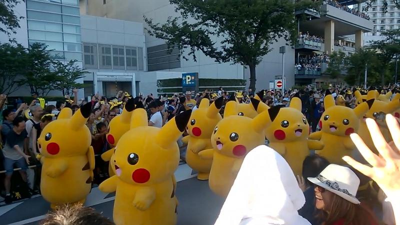 Pikachu Parade 2016
