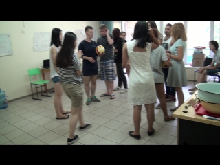00062 Ball competition. Chinese class.